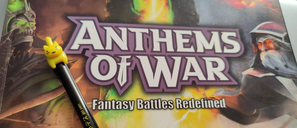 Anthems of War Cover